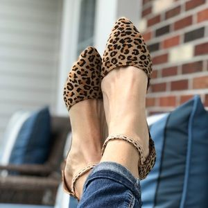 Shoes - 5 ⭐️ Rated Leopard 'Piper' Strappy Summer Flats